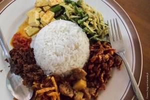 végétarien-Nasi campur @ Denpasar, Bali