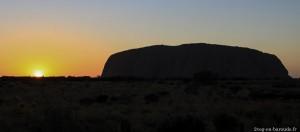 Sunrise sur Uluru