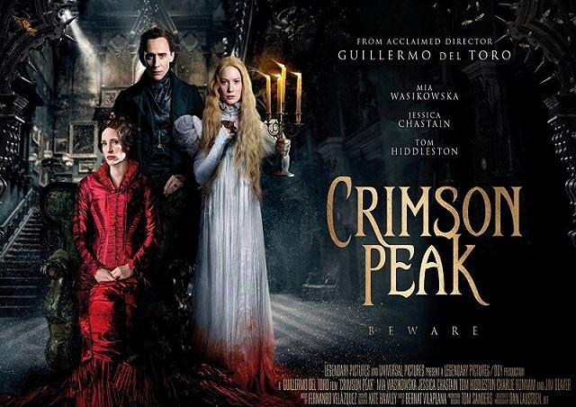 """Il film in seconda serata consigliato in TV: """"CRIMSON PEAK"""" giovedì ..."""