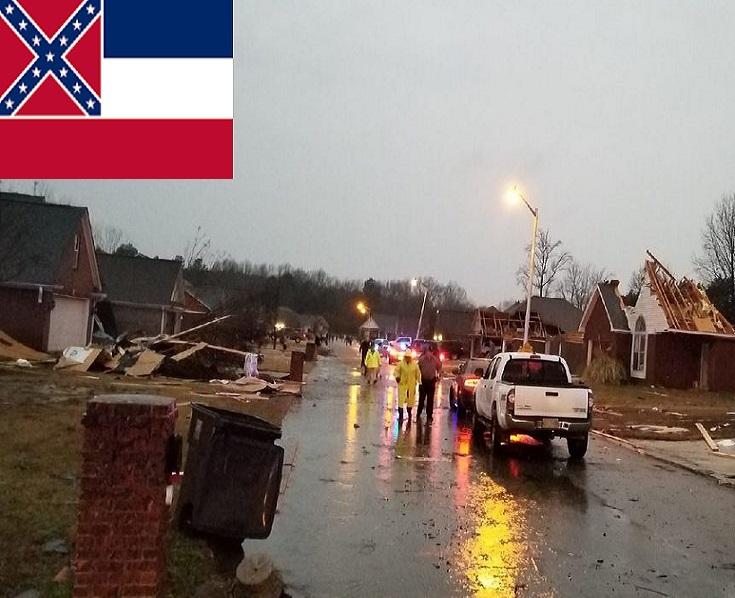 grave tornado in mississippi