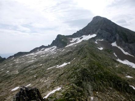 Mont Valier depuis le Cap de Pouech