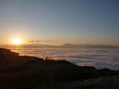 Levé de soleil vers 7h du matin