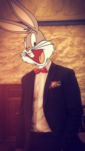 InstaCartoon_Bunny en costume_crédit photo Instagram Alexandre De Vries, Tpex85