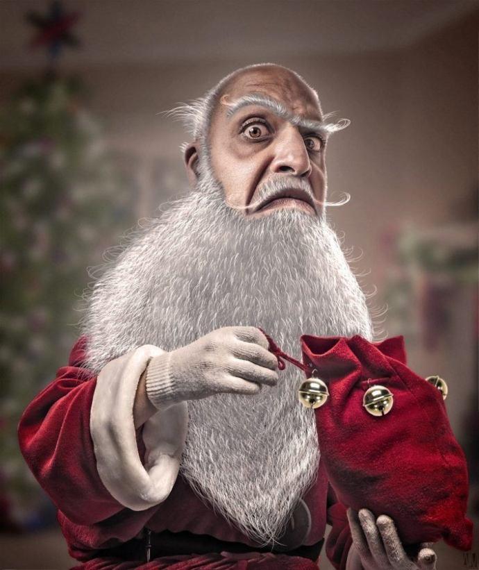 Santa Claus, merry christmas par Alexandre De Vries
