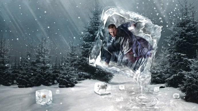 """Don't let the cold in par Lewis Moorhead """"Flew Design"""" sur le blog La Retouche photo"""