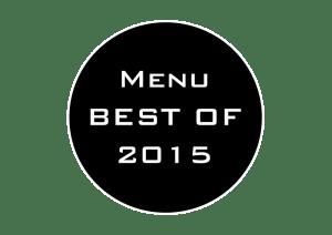 Menu Best of 2015, copyright La retouche photo