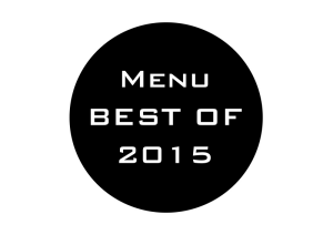 Menu Best of 2015