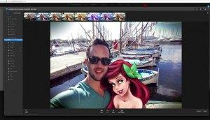 Photoshop express_imprim ecran, copyright la retouche photo