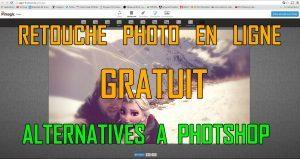 Retouche en ligne, imprime ecran, copyright La retouche photo