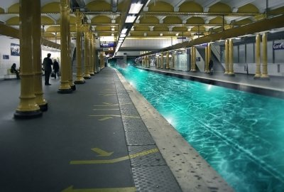 missing a lagoon @gare de lyon, france. Copyright Alexandre De Vries