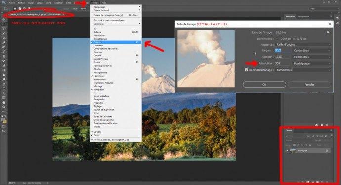 Photoshop cours 002 : créer des calques sur le blog La Retouche photo