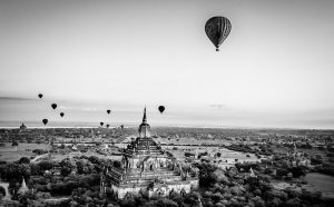 Crédit photo Shirren Lim – Balloons over bagan.