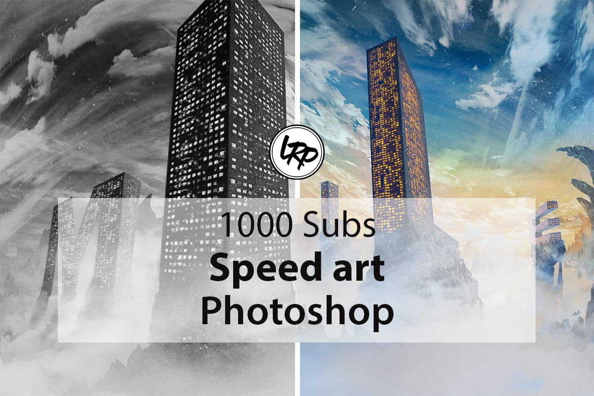 1000 Abonnés : Speed art Photoshop