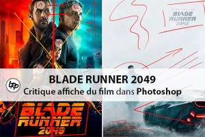 Critique de l'affiche du film Blade Runner 2049 sur le blog La Retouche photo