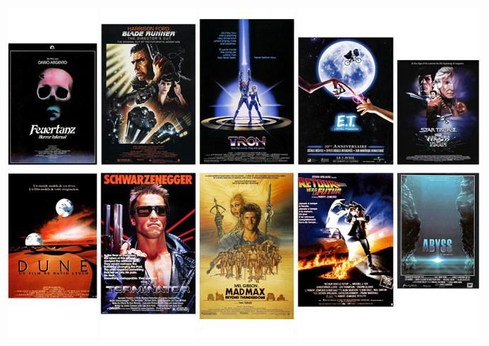 Top 30 des affiches de film de 1980, sur le blog La Retouche photo