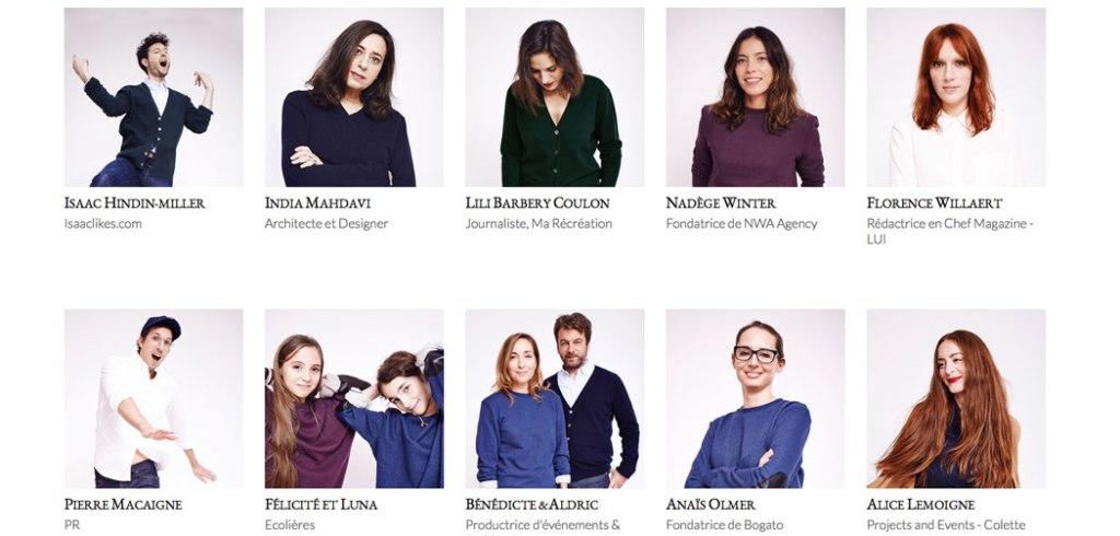 Les portraits mode de Maison Standards