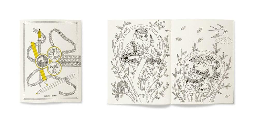Cahier à Colorier - Hermès Paris