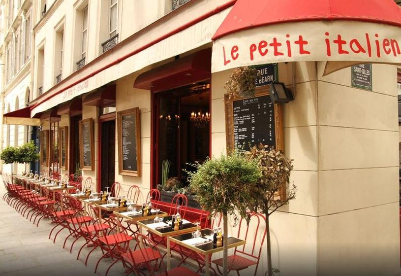 le Petit Italien rue saint gilles paris