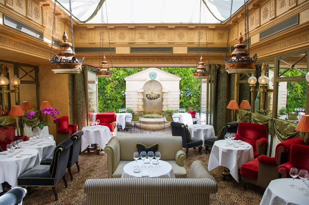 le-restaurant-l hotel paris