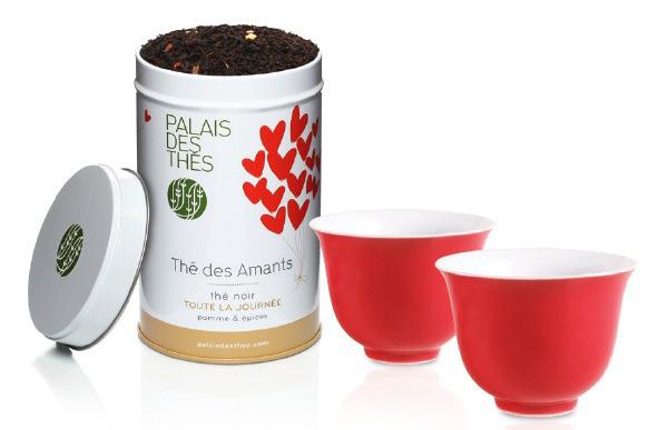 le thé des amants palais des thés coffret