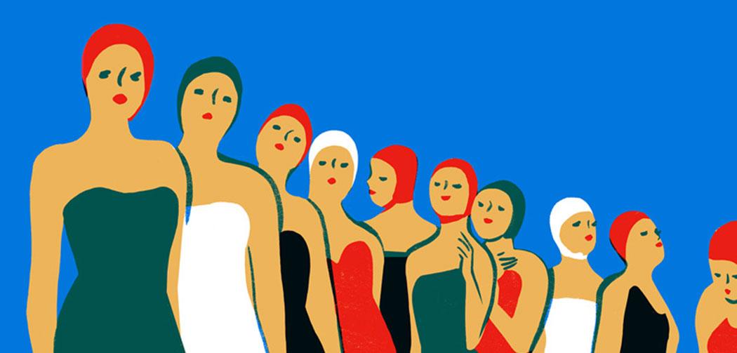 Piscine-Virginie-Morgand-illustratrice-Slow-Galerie-Paris