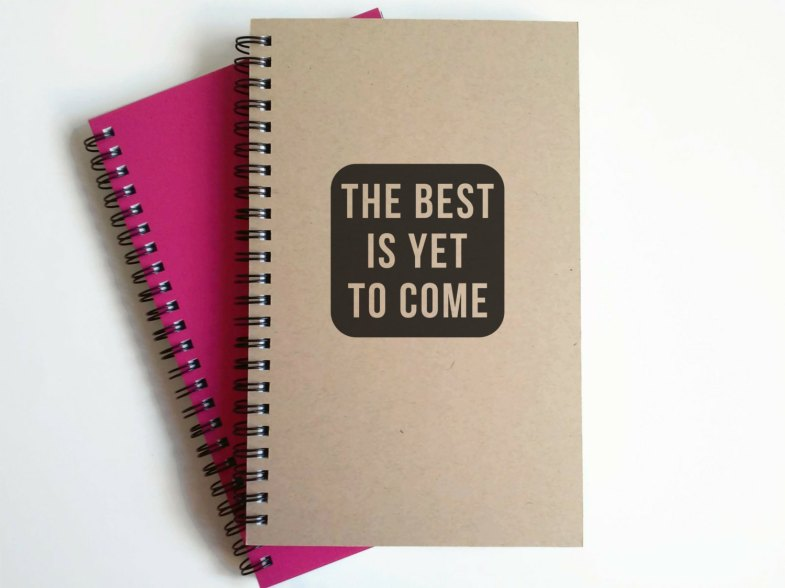 carnet cahier jolie papeterie the best is yet to come