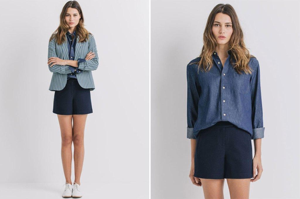 collection-capsule-Hast-Paris-Elise-Chalmin-chemise-jean-veste-graphique-Promod idee cadeau saint valentin