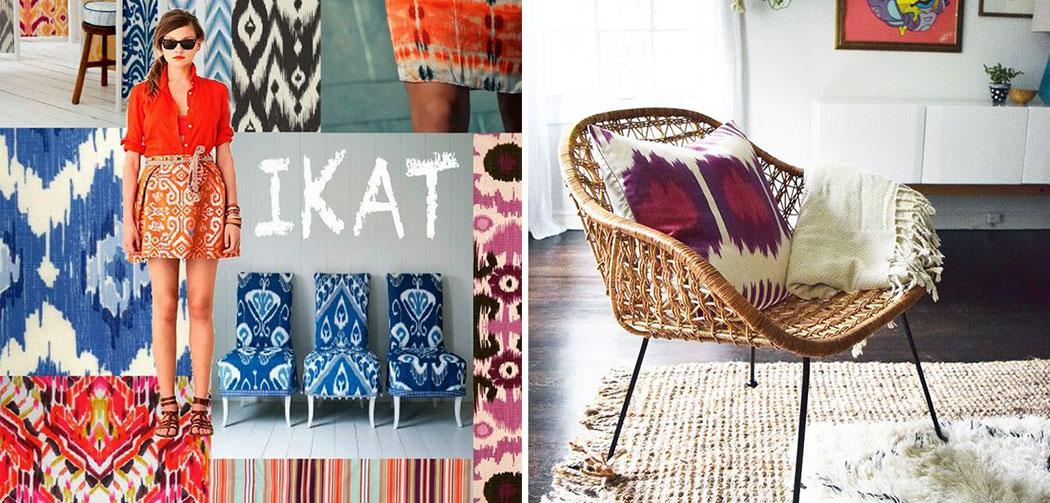 ikat la tendance ethnique chic la seinographe. Black Bedroom Furniture Sets. Home Design Ideas