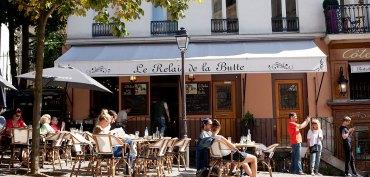Café Relais de la Butte Paris