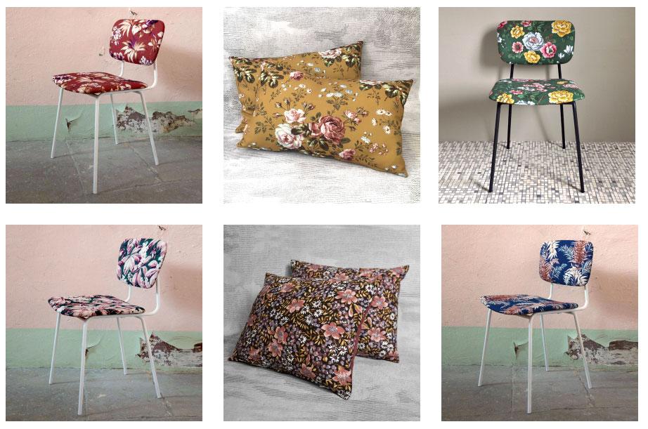 chaises-coussins-heritage-studio-tissus-imprimes-fleurs