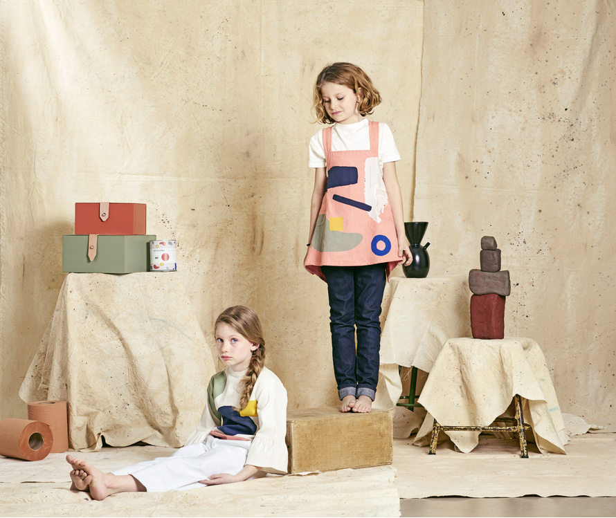 collaboration kids-milk-x-monoprix