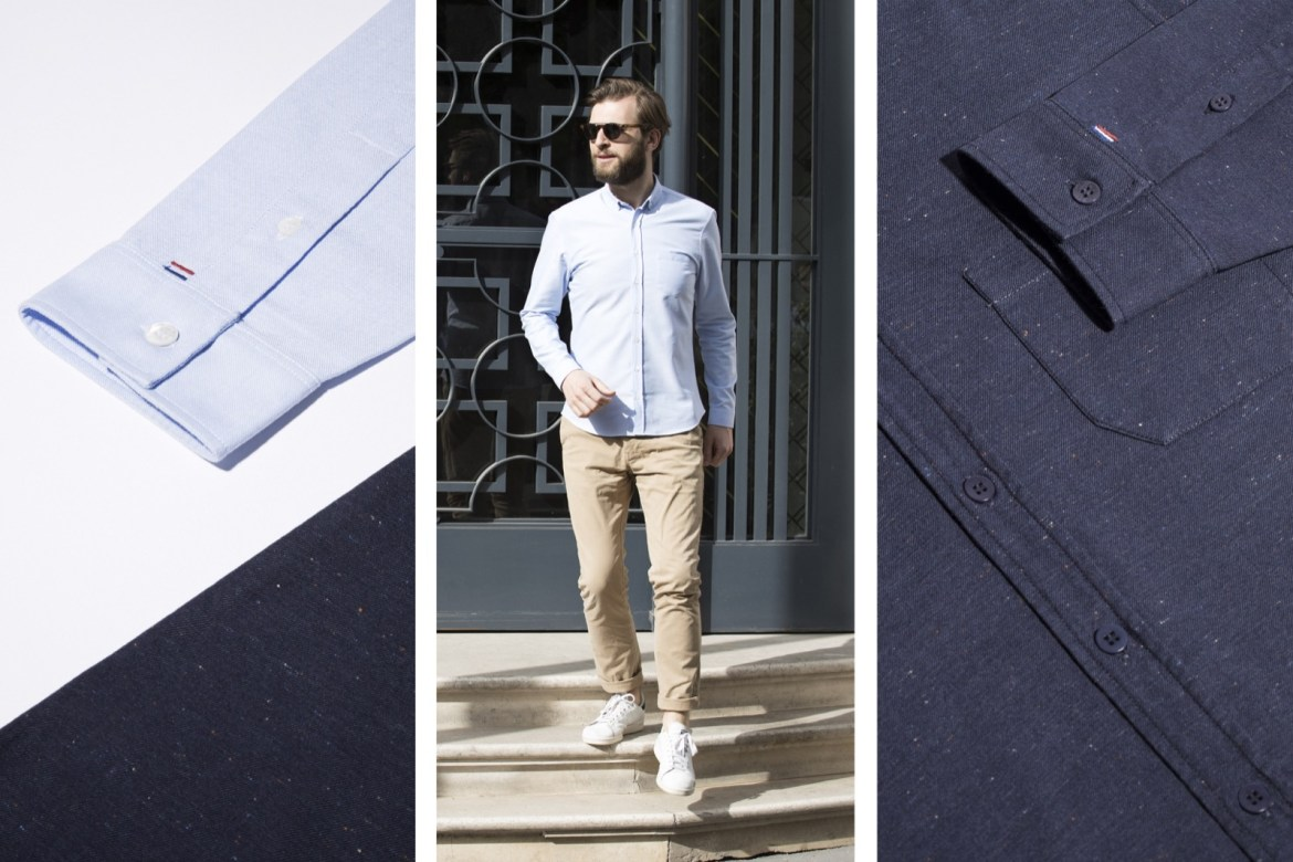 chemise-hommes-chic-casual-FYU-made-in-france 3