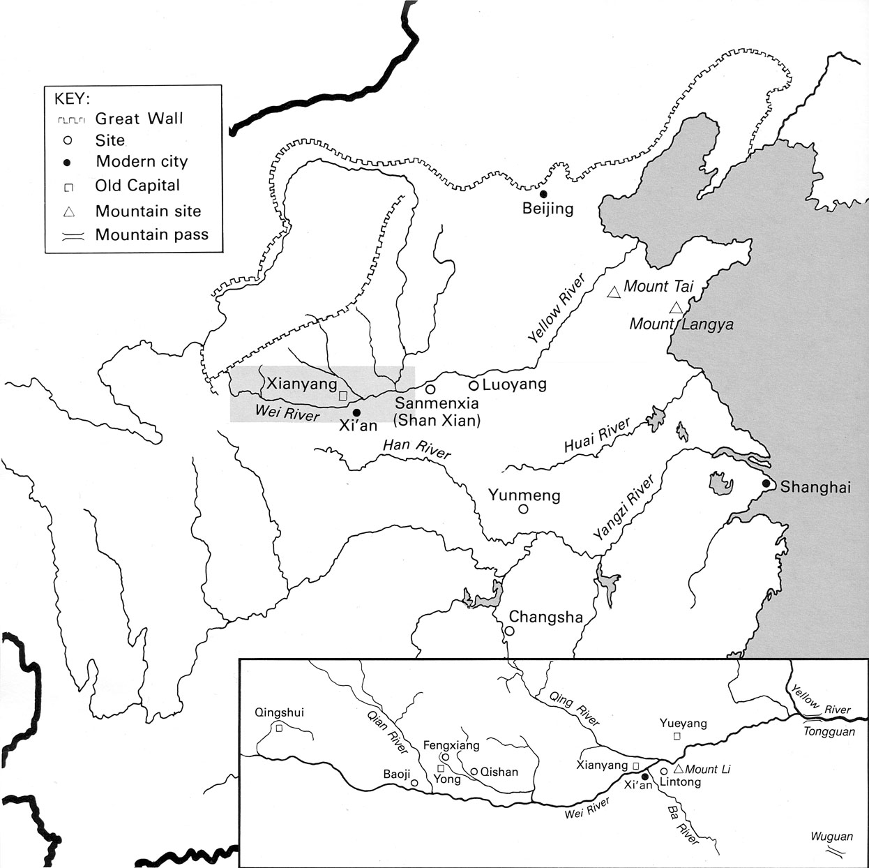 Map Study Guide History And Archaeology Of Early China