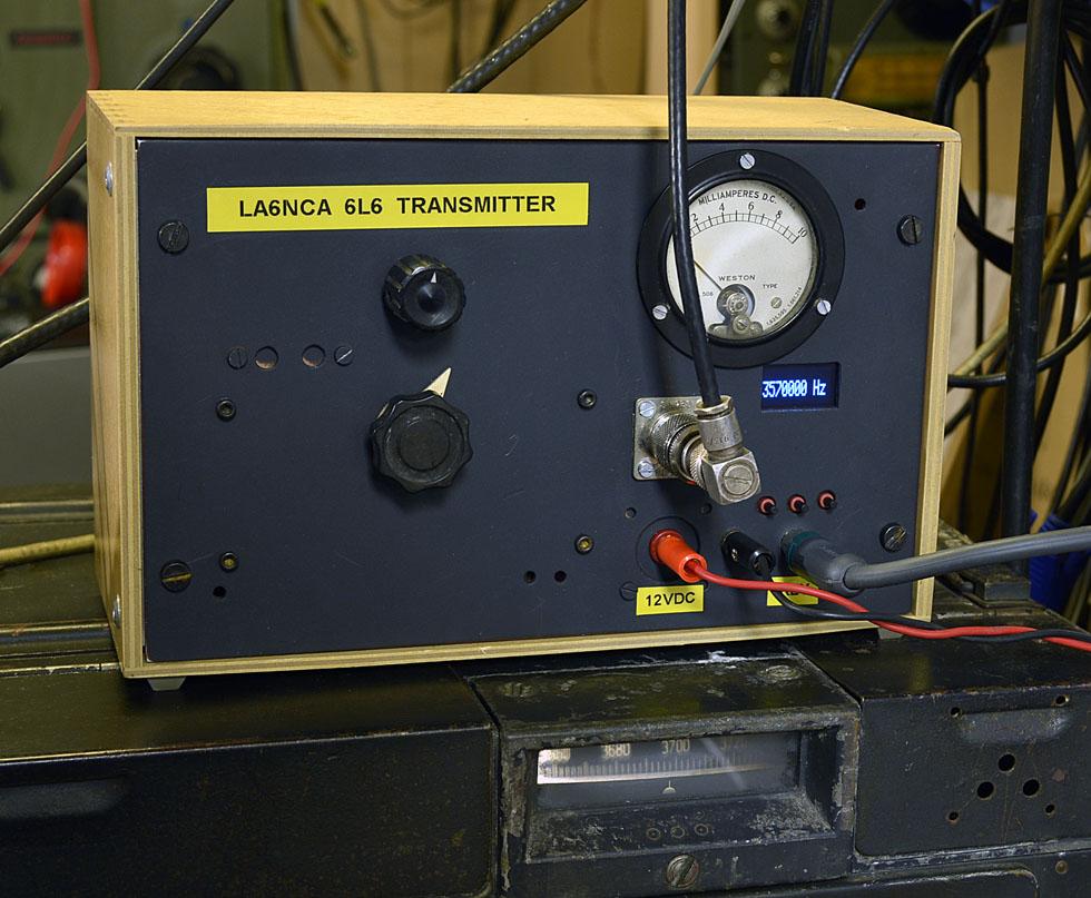 La6nca 6l6 Transmitter Homebrew