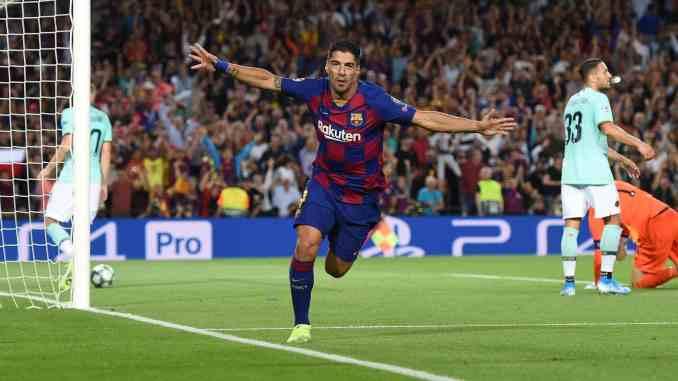 Luiz Suarez Barcelona Replace