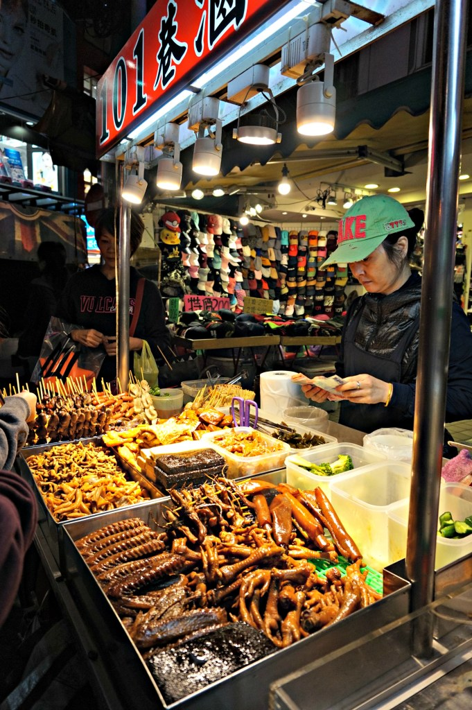Food Stalls at Shilin Night Market - Fell inlove with Taiwan