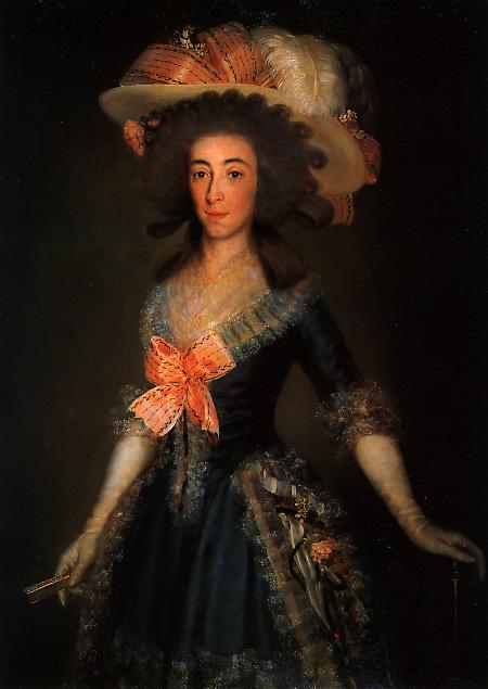 María Josefa de la Soledad, Duquesa de Osuna, o La Condesa Duquesa de Benavente (1785). Óleo sobre lienzo. 111 x 80 cm. Colección B. March (Palma de Mallorca, España).