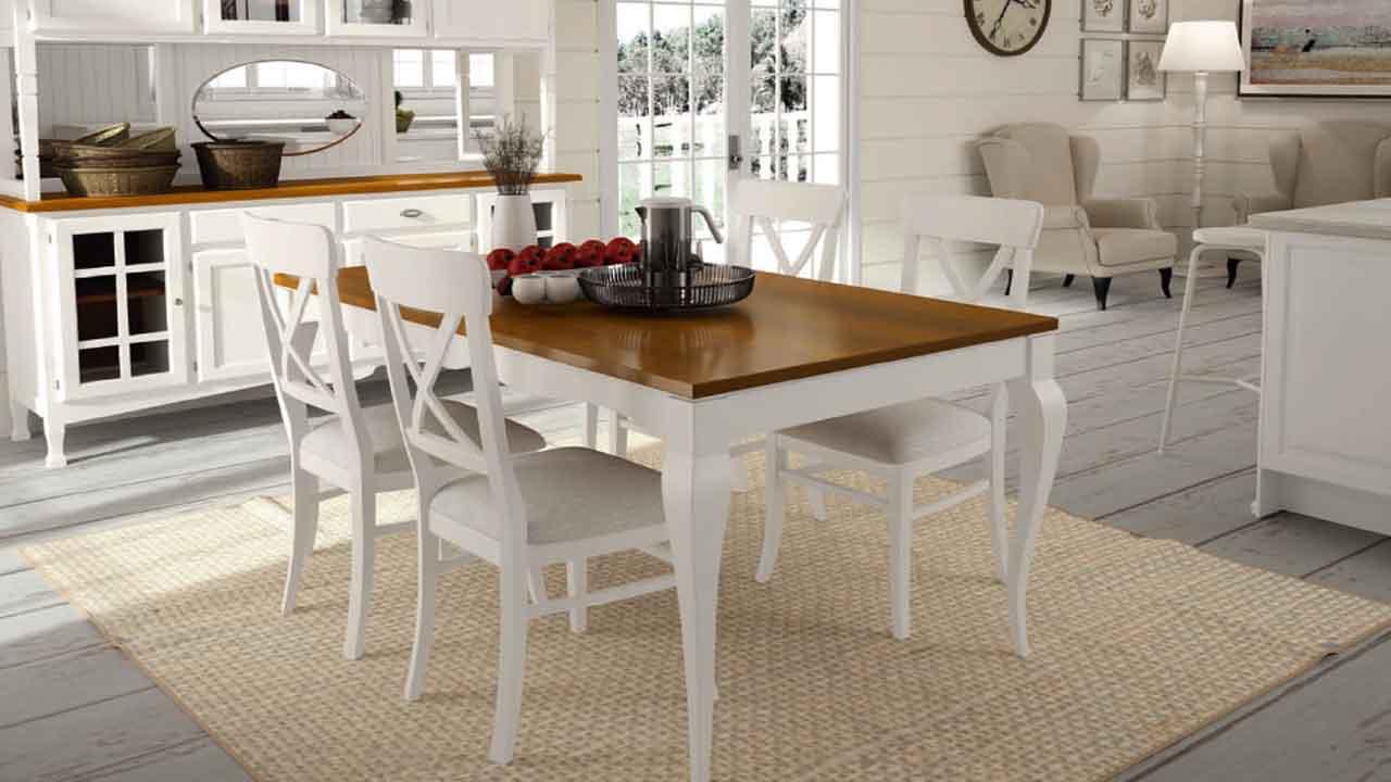 Mesa de Comedor Colonial Muebles y Decoracin La Alcoba
