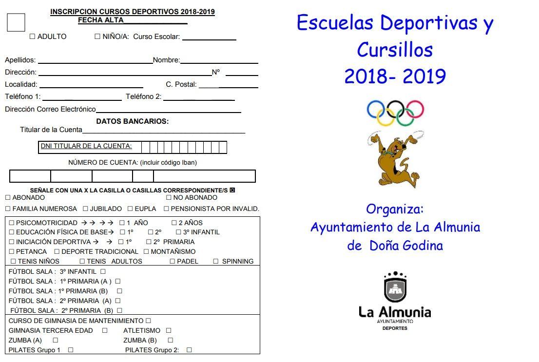 35ba3bc8 ... deportivas municipales, en horario de 9 a 13 horas y de 17 a 18:30  horas. Toda la información de los cursos, los horarios y las  especificaciones están ...