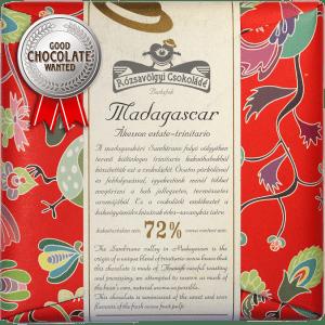 Rózsavölgyi Csokoládé Madagascar Trinitario 72%