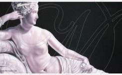 Quadro con statua, Paolina Borghese – Venere Vincitrice