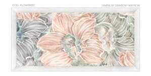 FLOWERS92 quadro moderno su tela con fiori floreale orchidee