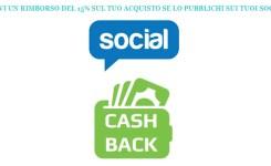 PROMO: Pubblica sui social il tuo acquisto e ricevi il 15% di sconto con l'operazione CASHBACK