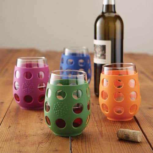Break Resistant Wine Glasses