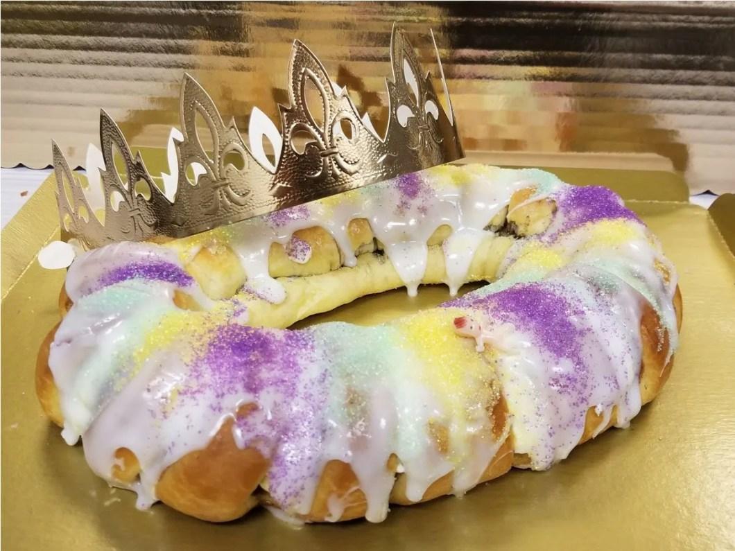 Lousiana King Cake