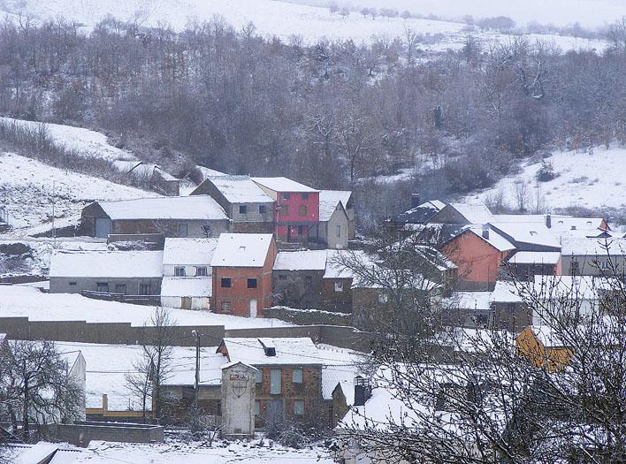S. Justo nevado en invierno