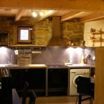 Vista general de la cocina