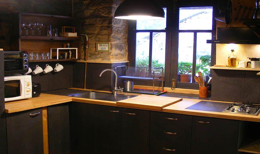 cocina casa La Nogala