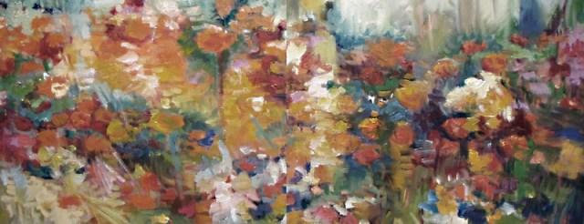 Campo de flores, por Juliane Mercante.