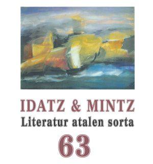Idatz & Mintz 63 – Literatur atalen sorta